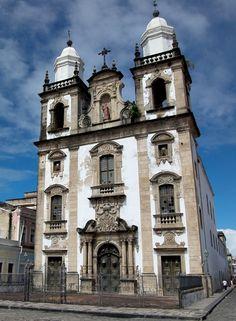 """""""Concatedral de São Pedro dos Clérigos"""". Recife. Estado de Pernambuco, Brasil."""