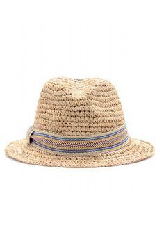 Guía de estilo: La primera escapada a la playa. Sombrero fedora, de Hat Attack (108€).