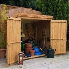 Garden Sheds 4 X 8 cedar shed 8 x 4 ft. bayside wood storage shed - storage sheds at
