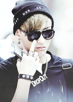Tao Tao ~When you low key flick your middle finger to your siblings because you don't want your parents to see.