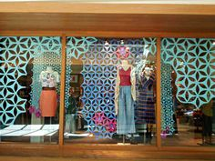 Upgrade your storefront with a flashy geometric window decal
