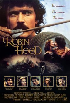 My favorite Robin Hood movie!  (Movies, now, not television shows, that's a whole 'nother kettle of fish).  Awesome awesome movie!!!