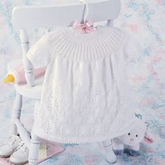 Leisure Arts - Snow Forest Baby Dress Knit Pattern ePattern, $2.99 (http://www.leisurearts.com/products/snow-forest-baby-dress-knit-pattern-digital-download.html)