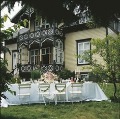 Villa Snøringsmoen in Swiss Style in Lillesand, Aust Agder County, Norway