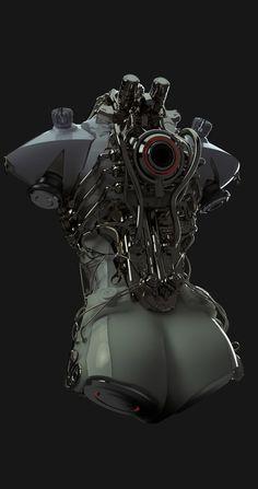 Robotshop Makes Waves In The Canadian Robotics Industry – Viral Gossip Robot Concept Art, Armor Concept, Cyberpunk Fashion, Cyberpunk Art, Armadura Sci Fi, Character Concept, Character Art, Futuristic Armour, Arte Robot