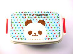 Products From Japan With Love: cute blue panda bento box
