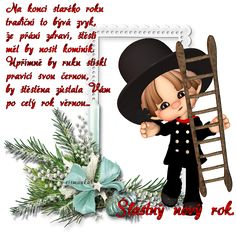Happy New Year, Advent, Good Morning, Minnie Mouse, Disney Characters, Fictional Characters, Merry Christmas, Humor, Drawings