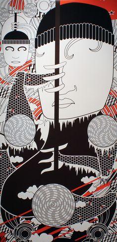 Ko Aotearoa Tenei by Johnson Witehira //Edmund Hillary Jr Art, Pattern And Decoration, Creative Background, Maori Art, Kiwiana, Art Competitions, Textile Artists, Pattern Art, Quilting Designs