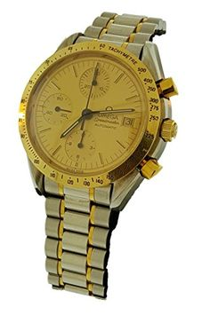 Omega Speedmaster Automatic automaticselfwind yellow mens Watch DA3750043 Certified Preowned ** Check out the image by visiting the link.
