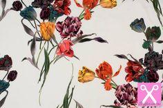 Tricot stof met superleuke digitale prints voor het maximale naaiplezier! Bestel de actuele Knipidee tricot collectie bij Stoffen online