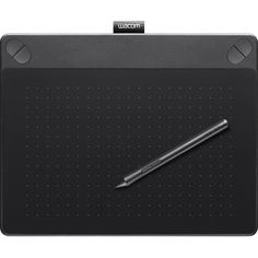 Black Medium Provided Wacom Intuos Cth-690ak-s Touch Graphics Tablet