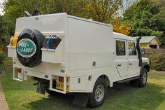 Land Rover Defender 130 som turbil