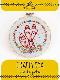 Hey, I found this really awesome Etsy listing at https://www.etsy.com/listing/168754681/crafty-fox-pdf-embroidery-pattern