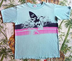 A cool vintage PIPELINE® tee from the 80's. Visit the new PIPELINE® at http://www.pipelinegear.com