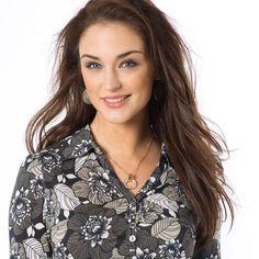 T-shirt coton et modal ANNE WEYBURN