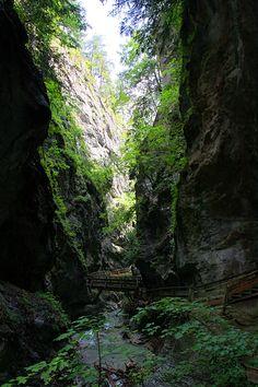 Wolfsklamm in Stans - Tirol, Austria