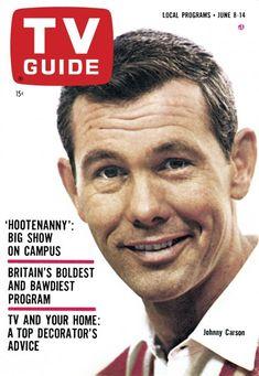 TV Guide: June 8, 1963 - Johnny Carson