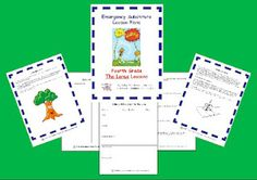 Classroom Freebies Too: Free Grade Emergency Sub Plans Teacher Freebies, Classroom Freebies, Classroom Ideas, Classroom Organization, Classroom Management, Substitute Teacher Binder, Math Story Problems, Emergency Sub Plans, Nouns And Adjectives