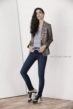 Ayres otoño invierno 2015 – Looks saco y jeans