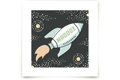 Out of This World by Jessie Steury at minted.com