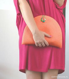DIY - Easy placemat clutch!