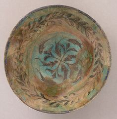 Bowl Date: 13th century Geography: Iran, Kashan Culture: Islamic - See more at: http://metmuseum.com/collection/the-collection-online/search/447154?rpp=90&pg=49&ft=iran&pos=4364#sthash.Bwe9emMz.dpuf