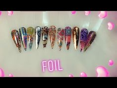 Deco, Friendship Bracelets, Nails, Jewelry, Youtube, Perfect Nails, Appliques, Stamps, Hacks