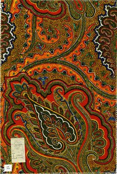 Loralai. Liberty of London Prints. Paisley from the 1970s.