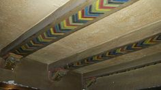 original beam paint Imperial Theater, Beams, Stairs, Flooring, The Originals, Building, Painting, Furniture, Home Decor