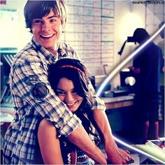 Troy & Gabriella ♥ I love her headband and dress!!!