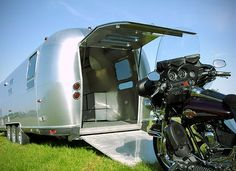 Having a camper with a garage in the back makes it easier to see exciting things #SmirnoffContestEntry