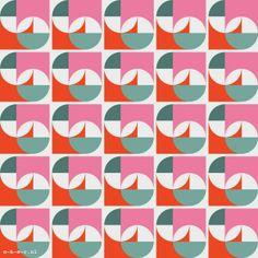 geometric : layered circles : pattern   design   by o-k-e-r.