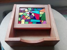 Mi primer Trencadís en mosaico Servilletero para mamá
