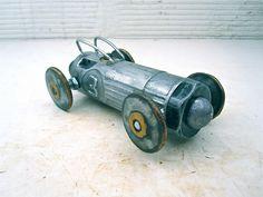 DIEgrinder Recycled Die Grinder Sculpture by Brown Dog Welding, via Flickr