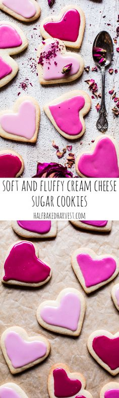 Soft and Fluffy Cream Cheese Sugar Cookies | halfbakedharvest.com @hbharvest