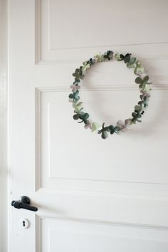 Shamrock Wreath from House that Lars Built