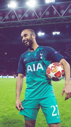Tottenham Hotspurs Lucas Moura T-Shirt #27 COYS Blue Spurs Tee