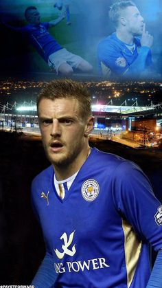 Jamie Vardy, Leicester City, prolific goal scorer at present.