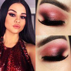 36 Ideas de maquillaje en tonalidad rojo http://beautyandfashionideas.com/36-ideas-de-maquillaje-en-tonalidad-rojo/ 36 Makeup Ideas in Red #36Ideasdemaquillajeentonalidadrojo #Belleza #ideasdemaquillaje #Maquillaje #Tipsdebelleza