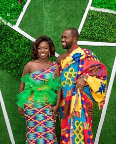 902ec025d African Traditional Wedding, African Inspired Fashion, African Fashion,  Kente Styles, Black Star