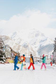 Apres snow boarding in Banff in Alberta, Canada Alberta Canada, Banff Alberta, Ski And Snowboard, Snowboarding, Ski Ski, Ski Girl, Ski Season, Canadian Rockies, Winter Activities