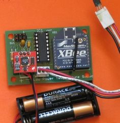 Low Power Wireless Temperature Sensor
