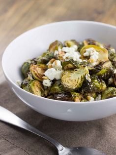 Lemon Thyme Roasted Brussels Sprouts | Veggie and the Beast