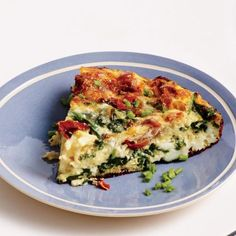 What to Make with Leftover Ham: Spinach, Ham, and Gruyère Frittata Recipe | CookingLight.com