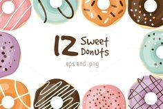 Vector donuts @creativework247