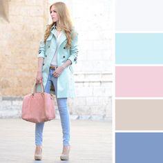 25 Công Thức Kết Hợp Màu Sắc Để Mặc Đẹp Không Phải Nghĩ | Xinh Plus
