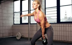 Kettlebell workout is a type of training which is not only designed for men. Women can also have benefits from this workout when it comes to training each part of their body, losing more weight Kettlebell Training, Kettlebell Swings, Circuit Kettlebell, Kettlebell Workout Routines, Kettlebell Workouts For Women, Body Fitness, Fitness Tips, Health Fitness, Women's Health