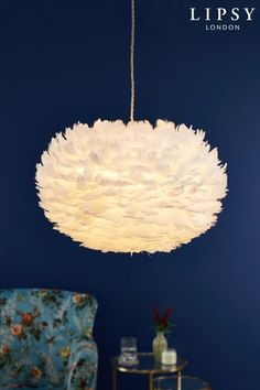 Buy Lipsy Feather Easy Fit Pendant from the Next UK online shop Feather Light Shade, Feather Lamp, Bedroom Colour Palette, Bedroom Colors, Diy Pendant Light, Kitchen Ceiling Lights, Kitchens And Bedrooms, Master Room, Cool Lamps