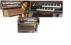 Thomas Minstrel 130 Organ in manueljmary's Garage Sale in Denton , TX for $125. Thomas Minstrel 130 Electric Organ. Great for beginners. Keys light up indication the notes. Storage in the bench for sheet music. Has various rhythm sounds, foot peddle volume control, foot base keys, and many other features.