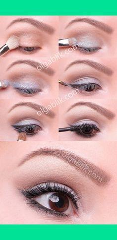Every day make-up tutorial | Olga B.'s (olgablik) Photo | Beautylish